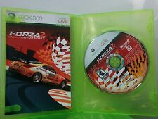 FORZA 2 MOTORSPORT (Microsoft Xbox 360, 2007)  BOX- BOOKLET-CD
