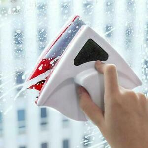 Window Magnetic Double Sided Glass Wipe Cleaner Cleaning Tools Home Brush M9K5