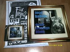 INCA BABIES-DEATH MESSAGE BLUES LP/CD(BLACK LAGOON)+SIGNED POSTER