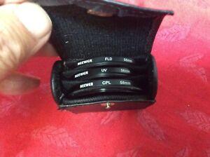 Neewer 58mm Lens Filter Accessory Kit UV CPL FLD for Canon Rebel Rebel T5i T4i