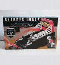 Sharper Image Desktop Arcade Shootout Challenge Play-Set skee skeet ball game