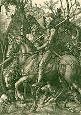 Albrecht Dürer - Ritter, Tod und Teufel ++ POSTER, DIN-A2 ++ Abigor ++ NEU !!