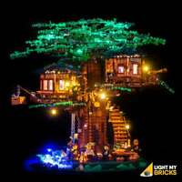 LIGHT MY BRICKS - LED Light kit for LEGO Tree House - 21318
