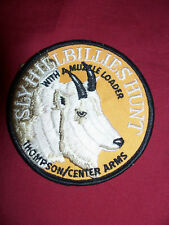Thompson Center Arms Muzzleloading Patch Mountain Goat Gun Rifle Cap Hat Jacket