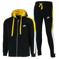 Nike Sportswear Club Fleece Zip Hoodie & Pants Set Black