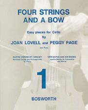 Cello Piano Music, Four Strings And A Bow, Book 1 by Joan Lovell & Peggy Page