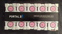 Portal 2 Original Companion Cube String Lights Officially Licensed Valve - New!