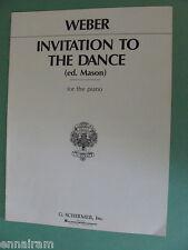 Carl Maria von Weber Op 65 Invitation to the Dance Mason Aufforderung zum Tanz