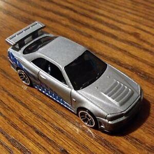 Nissan Skyline GT-R (Silver) - Fast & Furious - Hot Wheels Basic Loose (2020)