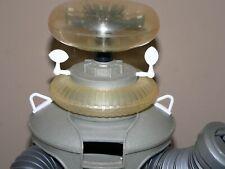 """Lost in Space Masudaya 16"""" Robot 10 piece Brain Antenna Chest Tie Down Soil Set"""
