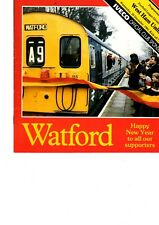 Watford FC Home Programmes season 1982/1983 choose your match