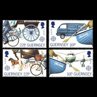 Guernsey 1988 - European Year of People with Disabilities - Sc 381/4MNH