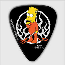 5 x Grover Allman The Simpsons Devil Bart Guitar Picks *NEW* Plectrums, 0.8mm