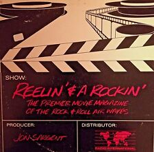 RADIO SHOW: REELIN & A'ROCKIN 1ST SHOW 12/15/86 CLAPTON, TALKING HEADS,WHO,DOORS