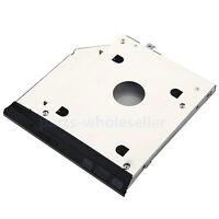 2nd HD SSD disco duro SATA Caddy Adaptador para HP EliteBook 2560p 2570p Con