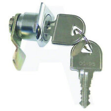 Asec AS6619 15mm Cranked Camlock To Suit Various DAD Post Boxes Chrome Plated