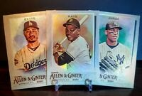 2020 Topps Allen & Ginter HOTBOX SILVER PORTRAIT PARALLEL SINGLES - YOU PICK