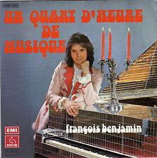 FRANCOIS BENJAMIN UN QUART D'HEURE DE MUSIQUE / MARIE SOLEIL FRENCH 45 SINGLE