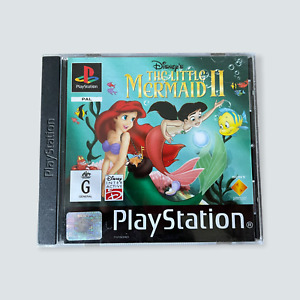 The Little Mermaid 2/II for the Sony Playstation/PSX - GC/PAL/AUS/Black Label 🐙