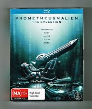 Prometheus To Alien (The Evolution 5-Movie Collection) Blu-ray 5-Disc New & Seal