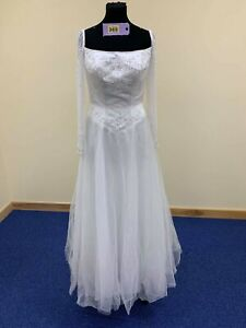 Milano Formals Wedding dress or prom dress size 12 ivory code 369