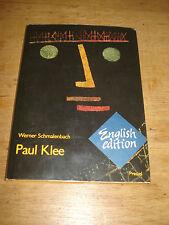 Paul Klee Werner Schmalenbach Düsseldorf Collection 1986 HARDBACK