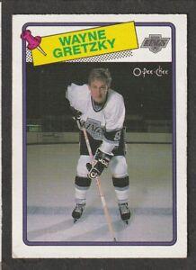 WAYNE GRETZKY 1988-89 OPC #120