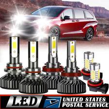 For Toyota Sienna 2011-2017 Combo H11 9005 LED Headlight H11 Fog Light Kit 6000K