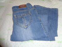 $69 Levi Strauss bootcut junior signature M stress blue wash 16 reg jeans 30/30
