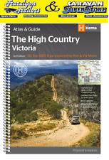 Hema map book Victorian High country atlas & guide 4x4 VIC 3rd edition ACC151