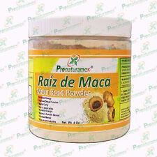 Raíz de maca en polvo 100% NATURAL / MACA POWDER 4 OZ.