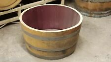 2 Authentic used half wine barrel planterS Free Shipping Lowest Price On Ebay!