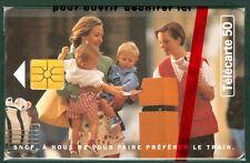 TELECARTE 50 UNITES PRIVEES PUBLIQUES  SNCF Gd DEPART  EN 1295  NSB