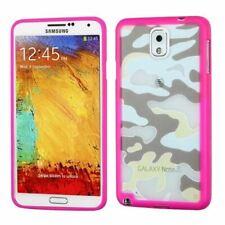 Galaxy Note 3 MYBAT Glassy Camo/Hot Pink Gummy Phone Case