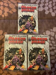 1993 Darker Image #1 Sealed Lot of 3 w/Different Cards
