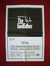 THE GODFATHER * 1972 ORIGINAL MOVIE POSTER VINTAGE MARLON BRANDO AL PACINO NM-M