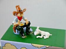 TIM & STRUPPI Tintin Metall Figur Tim und Struppi in Amerika  Moulinsart 46529
