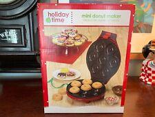 Mini Donut Maker Cake Maker Christmas Holiday Time Sweet Treats Desserts