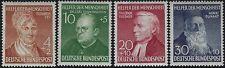 Germania - R.F.T. - 1952 - Beneficienza III^ serie - nuovi MNH - nn.42/45