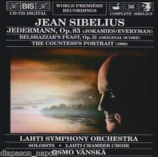 Sibelius: Jedermann, Etc / Osom Vänskä - CD