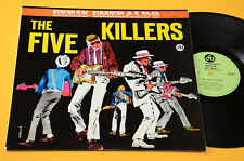THE FIVE KILLERS LP 1°ST ORIG ITALY BEAT 1964 EX++ 1°ED UNICO DISCO COVER CREPAX
