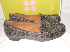 Naturalizer New Womens Notable Gray Loafers 6 M Shoes NWB