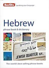 Berlitz Hebrew Phrase Book & Dictionary *IN STOCK IN MELBOURNE - NEW*