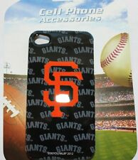 iPHONE 4 4S - OFFICIAL MLB SF GIANTS San Francisco HARD SNAP ON SKIN CASE COVER