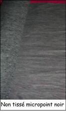 NON TISSE viseline THERMOCOLLANT ENTOILAGE triplure noir au mètre largeur 150 cm
