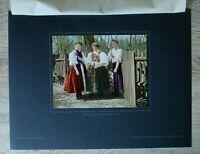 Brandenburg 1918/19 Tracht Mädchen Ziebingen Cybinka Polen Kleider +++ 27x36cm