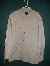 WILLIS & GEIGER ORIGINAL HEMINGWAY SAFARI JACKET BEAUTIFUL