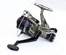 Carp Fishing Camo Lineaeffe Commando 60 Free Runner Reel + Spare Spool With Line