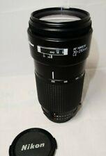 Nikon AF Nikkor 70-210mm f4 Lens
