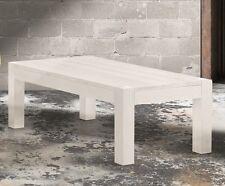 TAVOLINO in Abete Bianco Spazzolato misura 120x60 H. 40 cm.